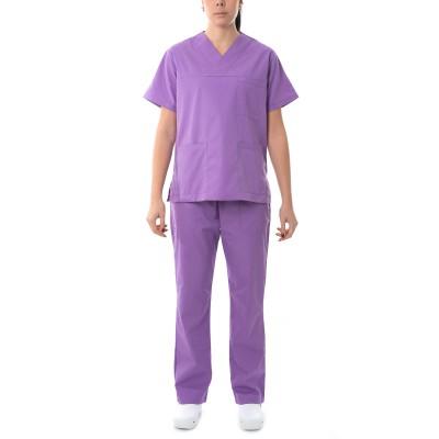 Σετ ιατρικού-νοσηλευτικού προσωπικού μωβ
