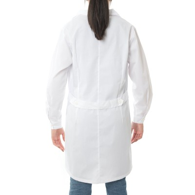 ιατρική ρόμπα γυναικεία λευκή