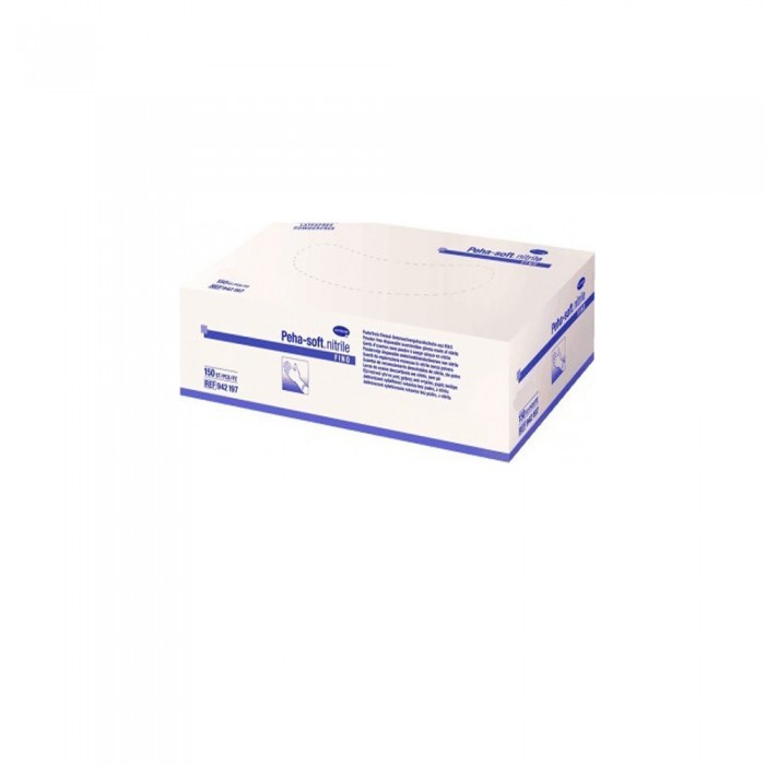 Hartmann Peha Soft Nitrile Fino Νιτριλίου Powder Free Μπλε 150τμχ