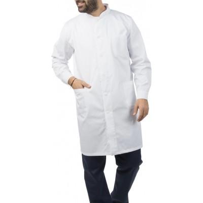 ιατρική ρόμπα ανδρική λευκή