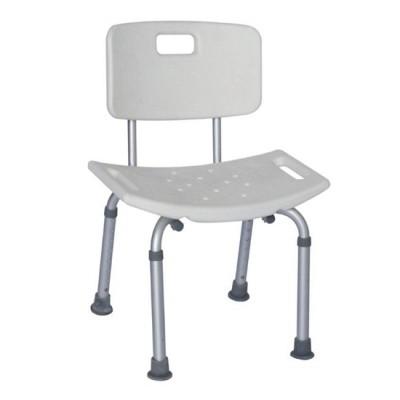 """Καρέκλα μπάνιου με πλάτη """"Shower Bench WB"""""""