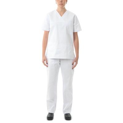 Σετ ιατρικού-νοσηλευτικού προσωπικού λευκό