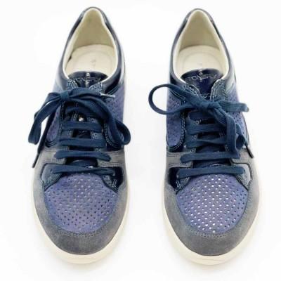 sneaker δέρμα καστόρι ντένιμ STONEFLY