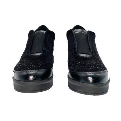 sneaker καστόρι μαύρο STONEFLY