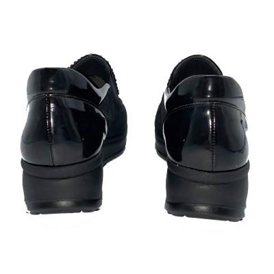 sneaker μαύρο  CINZIA SOFT
