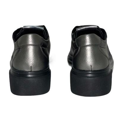 Sneaker μαύρο δέρμα STONEFLY